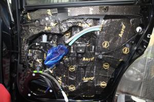 CX-8 マツダ純正 BOSE スピーカー交換 ツイーター交換  音質向上 音質改善 デッドニング サウブーハー インナーバッフル センタースピーカー サラウンドスピーカー トランクデッドニング 静穏化 ロードノイズ  吸音材 名古屋 ホットワイヤード