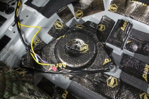 CX-8 マツダ純正 BOSE スピーカー交換 ツイーター交換  音質向上 音質改善 デッドニング サウブーハー インナーバッフル センタースピーカー サラウンドスピーカー トランクデッドニング ツイーター 埋込加工 MERCURY CAR AUDIO C62