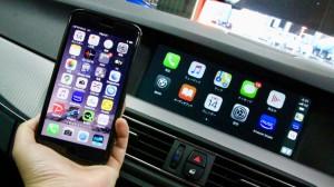 BMW 純正ナビ CIC 後付けCarPlay AndroidAuto ミラーリング インターフェース ハンズフリー ワイヤレスCarPlay HOT WIRED 名古屋