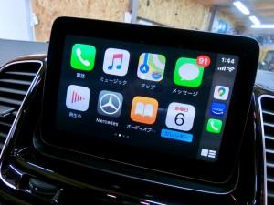 GLE NTG5S1 ベンツ 後付けCarPlay AndroidAuto 有効化 コーディング Apple CarPlay ホットワイヤード 名古屋 アンドロイドオート カープレイ