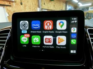 GLE NTG5S1 ベンツ 後付けCarPlay AndroidAuto 有効化 コーディング Apple CarPlay ホットワイヤード 名古屋