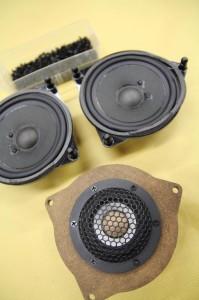 ベンツ Audible Physics RAM2 ワイドレンジスピーカー ドアスピーカー交換 ツイーター 音質向上 W205 W231 W222 Sクラス Cクラス Eクラス インナーバッフル