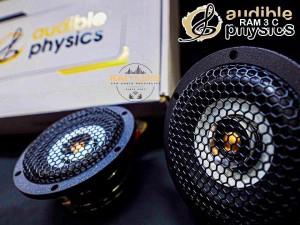 Audible Physics ram2 ram3 3インチ フルレンジスピーカー  同軸 2wayセパレート  HOT WIRED