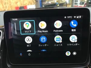 GLE NTG5S1 ベンツ 後付けCarPlay AndroidAuto 有効化 コーディング Apple CarPlay ホットワイヤード 名古屋 アンドロイドオート HOT WIRED