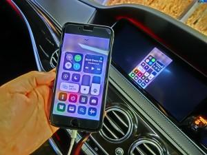 W222 前期 Sクラス Apple CarPlay AndroidAuto ワイヤレス ミラーリング HOT WIRED 名古屋 コーディング 後付け