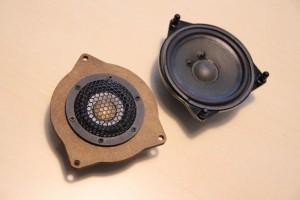 ベンツ Audible Physics RAM2 ワイドレンジスピーカー ドアスピーカー交換 ツイーター 音質向上 W205 W231 W222 Sクラス Cクラス Eクラス