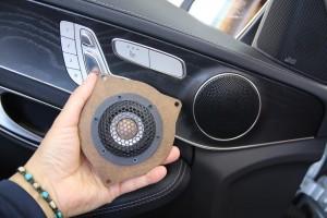 ベンツ Audible Physics RAM2 ワイドレンジスピーカー ドアスピーカー交換 ツイーター 音質向上 W205 W231 W222 Sクラス Cクラス Eクラス インナーバッフル HOT WIRED