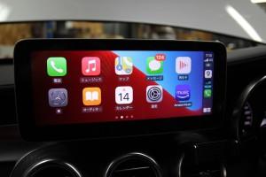 10.25インチ ベンツ Cクラス W205 アンドロイド Apple CarPlay 4G YOUTUBE ミラーリング モニター交換 ナビ交換 ナビ取付 SIM iPhone カープレイ
