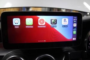 10.25インチ ベンツ Cクラス W205 アンドロイド Apple CarPlay 4G YOUTUBE ミラーリング モニター交換 ナビ交換 ナビ取付 SIM iPhone SIRI