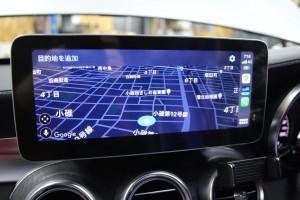 10.25インチ ベンツ Cクラス W205 アンドロイド Apple CarPlay 4G YOUTUBE ミラーリング モニター交換 ナビ交換 ナビ取付 SIM iPhone WAZE