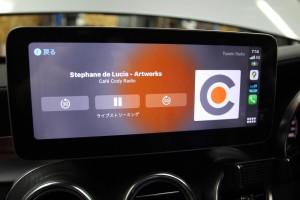 10.25インチ ベンツ Cクラス W205 アンドロイド Apple CarPlay 4G YOUTUBE ミラーリング モニター交換 ナビ交換 ナビ取付 SIM iPhone AMAZON MUSIC
