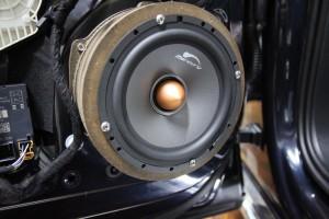 アウディ audi 3wsy 純正bose スピーカー交換 スコーカー ミッドレンジ フルレンジ Audible Physics ram2 Mercury Car Audio c62