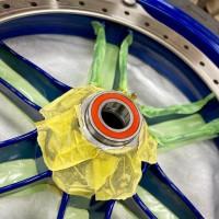 BUELL ビューエル XB12 XB9 フォークオイル フロントフォーク オーバーホール ホイールベアリング 圧入