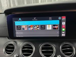 W213 Eクラス ベンツ ワイヤレス CarPlay ドングル AndroidAuto ミラーリング AMAZON MUSIC