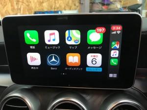 ワイヤレスCarPlay AndroidAuto ワイヤレスミラーリング ミラーリンク BENZ W205 W222 W235 GLC ベンツ 純正ナビ