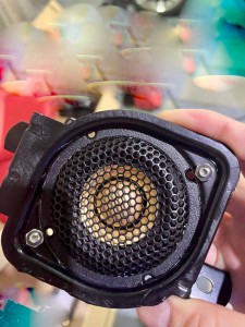 Mercury Car Audio CE165 SC430 LEXUS スピーカー交換 ツイーター取付 M40 Audible Physics RAM2