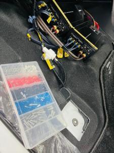 PRS D800 アンプ ゲイン調整 音調整 サウンドセッティング イコライザー オシロスコープ 位相 スリーブ パワーアンプ サイバーナビ モレル MOREL RTA HOT WIRED 端子 スリーブ