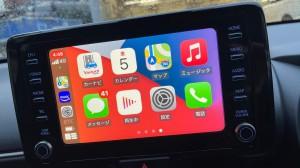 ワイヤレス化 トヨタ CarPlay ディスプレイオーディオ ワイヤレス ミラーリング 動画再生 走行中 iPhone 無線