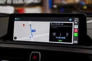 BMW M2 F30 F10 F15 G30 F34 F87 M2 M3 M4 Apple CarPlay ワイヤレス ミラーリング Android Auto 後付けCarPlay iPhone BMW純正ナビ コーディング 有効化 インストール 名古屋 グーグル YOUTUBE 動画 視聴 NBT NBTEVO EVO2 EVO CIC YAHOO カーナビ カープレイ  Android Auto