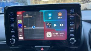 ワイヤレス化 トヨタ CarPlay ディスプレイオーディオ ワイヤレス ミラーリング 動画再生 走行中 iPhone 無線 ドングル 後付けCarPlay