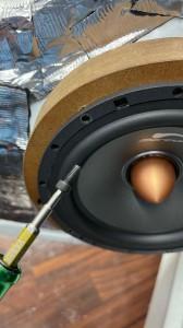 Mercury Car Audio スピーカー C62 2WAYセパレート マーキュリー インナーバッフル HOT WIRED 防水塗装 鬼目ナット