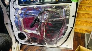 ドア デッドニング 圧着 ローラー サイレントコート STP 正しいデッドニング方法 防振 防音 静穏化
