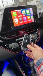 CHR トヨタ ディスプレイオーディオ ワイヤレスCarPlay Apple CarPlay 無線化 ワイイヤレス化 ミラーリング YOUTUBE