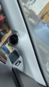 ステップワゴン ツイーター 埋込 取付 位置 角度 純正風 シボ塗装 HOT WIRED