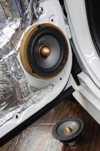Mercury Car Audio スピーカー C62 2WAYセパレート マーキュリー インナーバッフル HOT WIRED