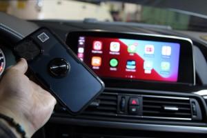 BMW 純正ナビ NBT EVO NBTEVO ID4 ID5 ID6 ワイヤレス CarPlay iPhone カープレイ APPLE 有効化 コーディング アクティベイション ライセンス コード 名古屋 HOT WIRED
