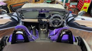 ND ロードスター 純正BOSE ボーズサウンド スピーカー交換 ツイーター交換 デッドニング 音質改善 音質向上 ホットワイヤード 名古屋 カーオーディオ CarPlay アンドロイド NETFLIX YOUTUBE プライムビデオ
