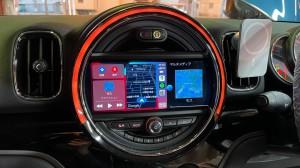 F60 BMW MINI ミニ ワイヤレス CarPlay 有効化 コーディング ミラーリング アンドロイド MIRACAST WIFI Bluetooth iPhone スマホ F55 F54 F56 F57