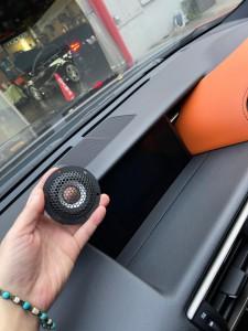 レクサス スピーカー交換 センタースピーカー ツイドラー ミッドレンジ ダッシュボード ツイーター 音質向上 マークレビンソン