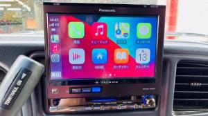 HUMMER H2 ワイヤレスCarPlay ミラーリング YOUTUBE Android Auto 汎用 後付け HDMI ビデオ入力 タホ サバーバン エスカレード アメ車
