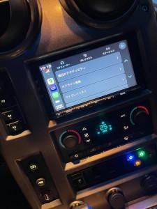 HUMMER H2 ワイヤレスCarPlay ミラーリング YOUTUBE Android Auto 汎用 後付け HDMI ビデオ入力 タホ サバーバン エスカレード アメ車 グーグルマップ AMAZONミュージック