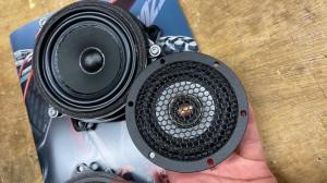 BMW MINI F60 R60 F56 F54 F55 ミニ スピーカー交換 音質改善 ツイーター ドアスピーカー デッドニング Mercury Car Audio Audible Physics セパレートスピーカー ウーハー交換 RAM3 3インチ