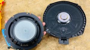 BMW MINI F60 R60 F56 F54 F55 ミニ スピーカー交換 音質改善 ツイーター ドアスピーカー デッドニング Mercury Car Audio Audible Physics セパレートスピーカー ウーハー交換 16cm シート下ウーハー
