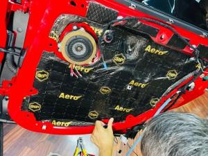 BMW MINI F60 R60 F56 F54 F55 ミニ スピーカー交換 音質改善 ツイーター ドアスピーカー デッドニング Mercury Car Audio Audible Physics セパレートスピーカー ウーハー交換 RAM3 2WAYセパレート ドア 音漏れ 防音 制振