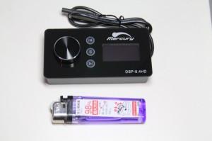 DSP内蔵 パワードウーハー 4CH.アンプ内蔵パワードウーハー フロントスピーカー用アンプ内蔵パワードウーハー Bluetooth5.0 ハイレゾ FLUC オールインワン カーオーディオ Mercury Car Audio DSP8.4HD マスターボリューム リモコン コマンダー