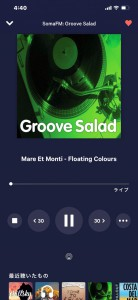tunein groove salad ストリーミング インターネットラジオ HOT WIRED