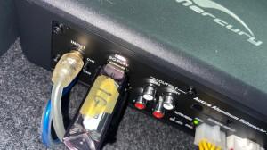 DSP内蔵 パワードウーハー 4CH.アンプ内蔵パワードウーハー フロントスピーカー用アンプ内蔵パワードウーハー Bluetooth5.0 ハイレゾ FLUC オールインワン カーオーディオ Mercury Car Audio DSP8.4HD マスターボリューム リモコン コマンダー C62 2WAYセパレート スピーカー交換 ノア ツイーター取付 USB入力