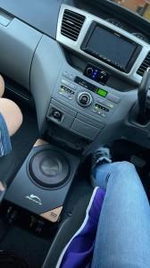 DSP内蔵 パワードウーハー 4CH.アンプ内蔵パワードウーハー フロントスピーカー用アンプ内蔵パワードウーハー Bluetooth5.0 ハイレゾ FLUC オールインワン カーオーディオ Mercury Car Audio DSP8.4HD 小型ウーハー
