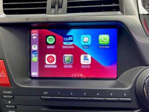 シトロエン DS5 C4 アンドロイド タッチパネル Apple CarPlay ワイヤレス YOUTUBE グーグルマップ NETFLIX HULU プライムビデオ 動画視聴 Bluetooth Android10 8コア 4G SIM カープレイ