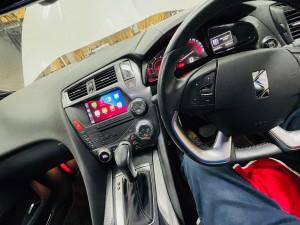 シトロエン DS5 C4 アンドロイド タッチパネル Apple CarPlay ワイヤレス YOUTUBE グーグルマップ NETFLIX HULU プライムビデオ 動画視聴 Bluetooth Android10 8コア 4G SIM