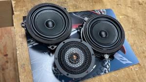 BMW MINI F60 R60 F56 F54 F55 ミニ スピーカー交換 音質改善 ツイーター ドアスピーカー デッドニング Mercury Car Audio Audible Physics セパレートスピーカー ウーハー交換 名古屋