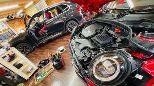 BMW MINI F60 R60 F56 F54 F55 ミニ スピーカー交換 音質改善 ツイーター ドアスピーカー デッドニング Mercury Car Audio Audible Physics セパレートスピーカー ウーハー交換 RAM3 2WAYセパレート