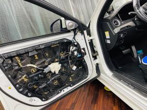 W222 BENZ Sクラス ベンツ ブルメスター スピーカー交換 ツイーター交換 音質改善 音質向上 デッドニング 3Dツイーター ハイエンド Mercury Car Audio Audible Physics RAM3 RAM2 HOT WIRED