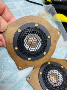 W222 BENZ Sクラス ベンツ ブルメスター スピーカー交換 ツイーター交換 音質改善 音質向上 デッドニング 3Dツイーター ハイエンド Mercury Car Audio Audible Physics RAM3 RAM2 HOT WIRED インナーバッフル ドアスピーカー