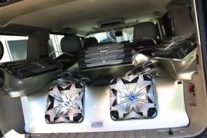 hummer h2 オーディ カスタム 水冷オーディオ kicker ホットワイヤード HOT WIRED 名古屋 x5 solobalic ソロバリック キッカー