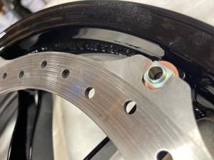 BUELL XB12 EBR BRAKE ROTOR ブレーキローター マウンティングハードウエア ボルト カラー スプリング メンテナンス カスタム 名古屋 ビューエル